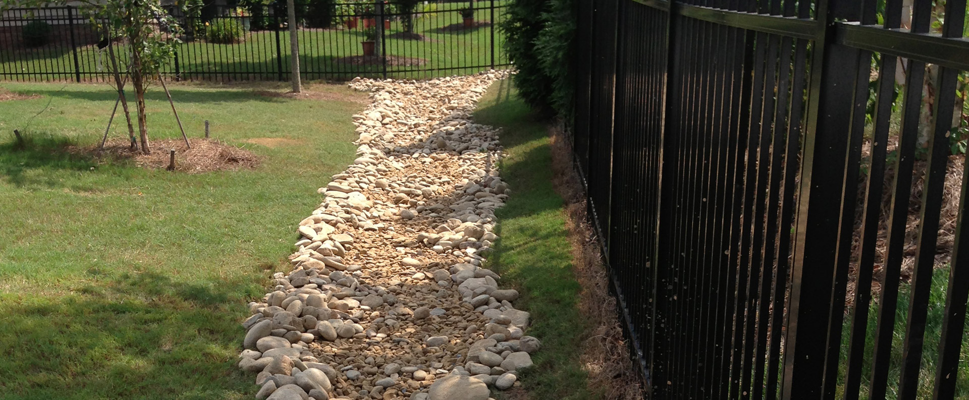 Yard Drainage | Undergroud Drainage | Charlotte NC ...